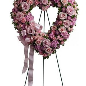 Rose Garden Heart - Sweet Lily's