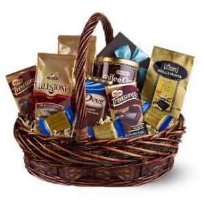 Chocolate and Coffee Gift Basket - Sweet Lilys Flowers