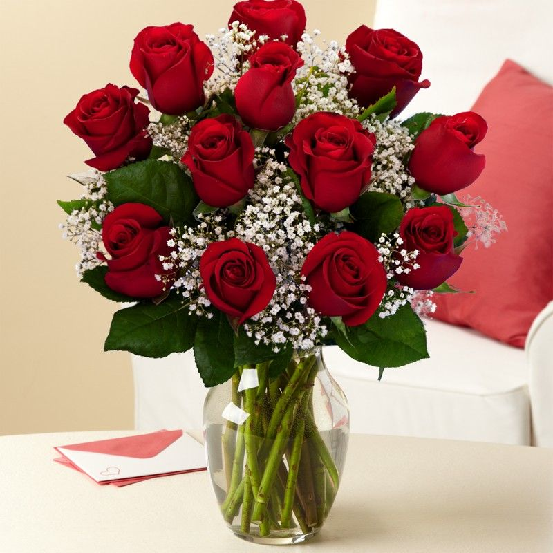 Dozen Roses - Sweet Lilys Flowers
