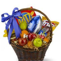 Goalpost Goodies Basket - Sweet Lilys Flowers